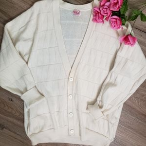 N. Peal 100% Cashmere Button Down Cardigan